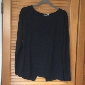 Open back casual sweater
